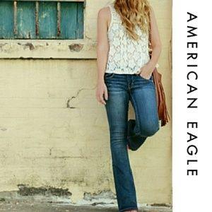 AEO Boho Flare Super Super Stretch Jeans 2